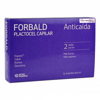 Forbald Plactocel Capilar Anticaida Ampoules (15x5ml)