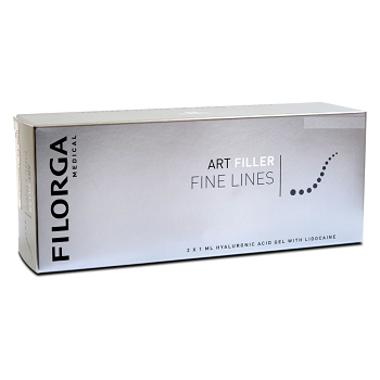 Buy Filorga Art Filler Fine Lines with Lidocaine (2x1ml)